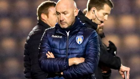 U's boss John McGreal, unhappy with the way his side are throwing away points. Picture: STEVE WALLER
