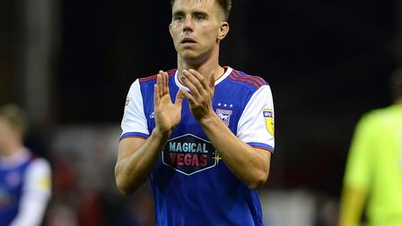 Jonas Knudsen looks to have played his last game for Ipswich Town. Photo: Pagepix