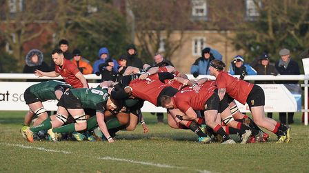 Colchester's forwards were key to their win over North Walsham. Picture: PICAXIS PHOTOGRAPHY