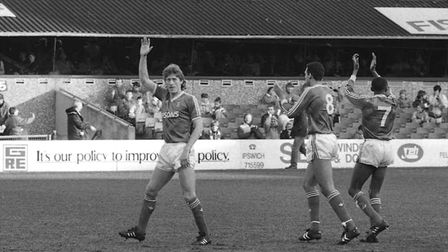Sergei Baltacha scored on his Town debut as the Blues beat Stoke 5-1 at Portman Road in 1989