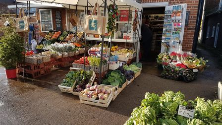 Orford General Store which is in the running for a Countryside Alliance award Picture: SUE GADD