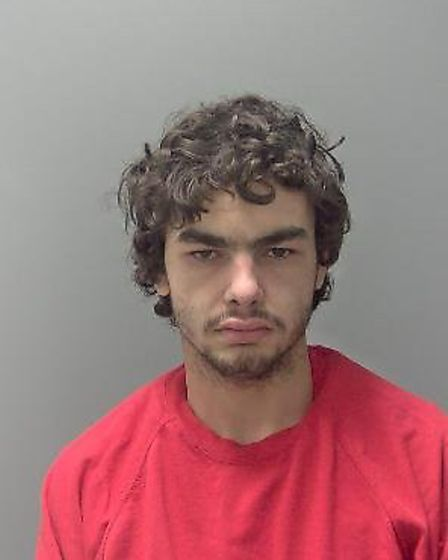 Jason Parkinson was jailed for two years for a series of burglaries. Picture: SUFFOLK CONSTABULARIES