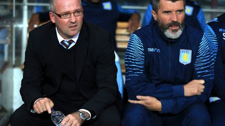 Keane assisted current Ipswich manager Paul Lambert during his time at Aston Villa. Picture; PA