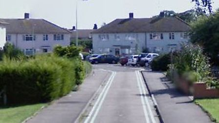 The fire happened at Charles Close in Newmarket Picture: GOOGLE MAPS