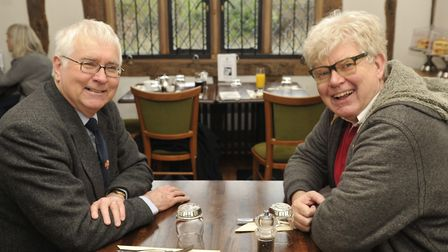 Sir Bob and reporter Paul Geater, both living, frequently meet to talk about being alive and its hea