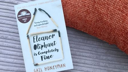 Eleanor Oliphant is Completely Fine by Gail Honeyman PICTURE: Emily Cotton