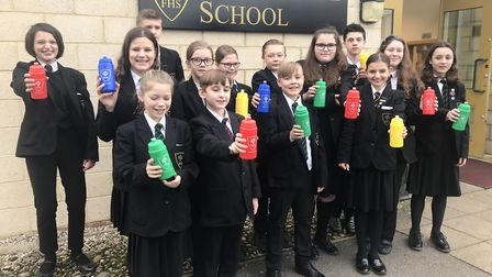 Forest Hall School has been working to become more eco-friendly. Picture: FOREST HALL SCHOOL