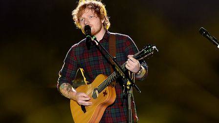 A small fire was reported at Ed Sheeran's estate near Framlingham yesterday morning Picture: PA