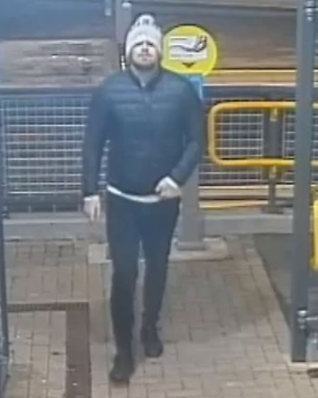 British Transport Police are hoping to speak to the two men Picture: BTP