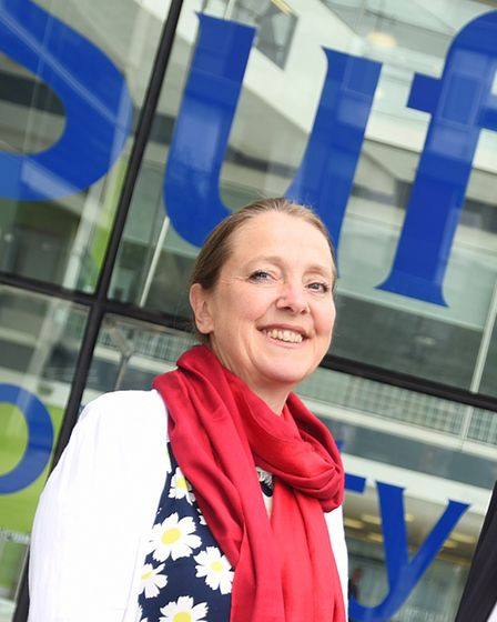 Labour group leader Sarah Adams raised concerns with the Citizens Advice cuts. Picture: GREGG BROWN