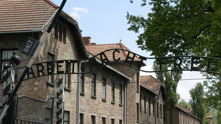 The gates at Auschwitz. Picture Archant.