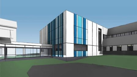 How the new IRCA centre at Colchester Hospital will look when built Picture: ESNEFT