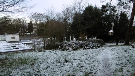 Broomhill park and area in the snow Picture: DAVID VINCENT