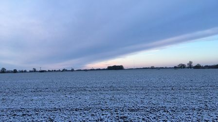 Suffolk has seen its coldest night since the Beast from the East. Picture: SARAH CHAMBERS