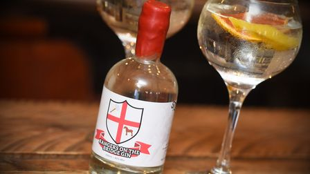 Gin in memory of Josh Gilbert was made last year Picture: GREGG BROWN