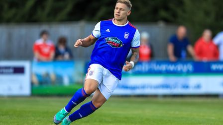 Striker Martyn Waghorn was sold to Derby for a big profit. Picture: STEVE WALLER
