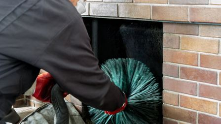 Essex Fire Service are advising residents to get their chimnies swept properly to avoid fires. Pictu