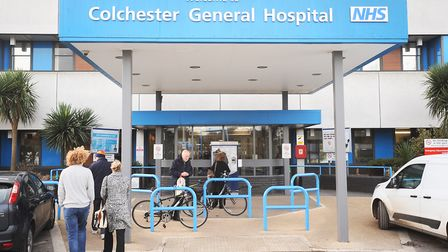 The number of homeless people visiting A&E at Colchester Hospital has risen sharply over the past si