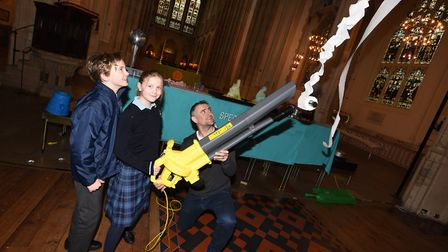 Suffolk Science Festival is returning to Bury St Edmunds this half term. This photo shows a previous