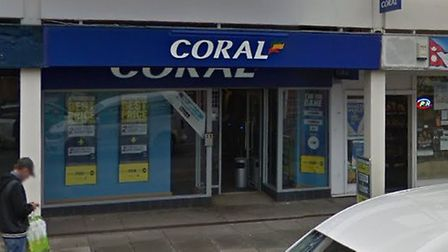 Staff at Coral on North Station Road in Colchester were held up at knifepoint Picture: GOOGLE MAPS