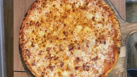 A Slice of New York in Sudbury is selling some of the biggest pizzas in Suffolk, if not East Anglia