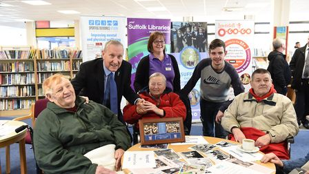 Former Ipswich Town and England footballer Terry Butcher joins a Sporting Memories session at Lowest