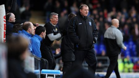 Paul Jewell took charge of his first Portman Road game as Town beat Doncaster 3-2 at home in 2011