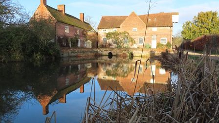 Reflections of Flatford Mill Picture: MICK WEBB