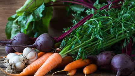 A selection of fresh vegetables. Picture: Thinkstock/PA.