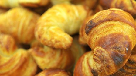 Croissants - yep, they have a day. Picture: ANTONY KELLY