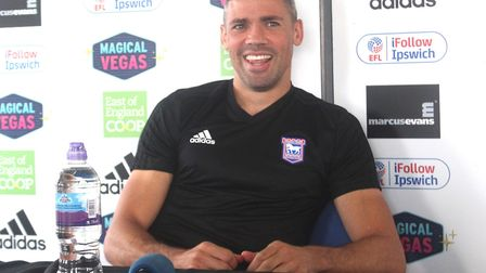 Jon Walters rejoined Ipswich (briefly) earlier this season. Picture: ROSS HALLS