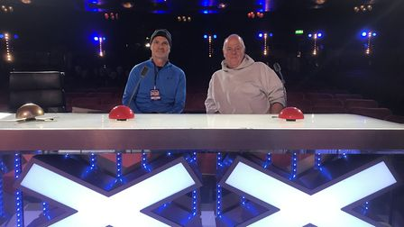 The Hour Community representatives got to visit the Britain's Got Talent studios in London Picture: