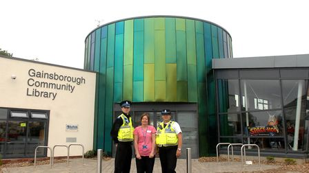 Gainsborough library has become a community hub since it opened in 2010. Picture: SARAH LUCY BROWN