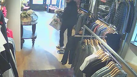 Javelin in Bury St Edmunds released the images following the theft Picture: SUPPLIED BY JAVELIN