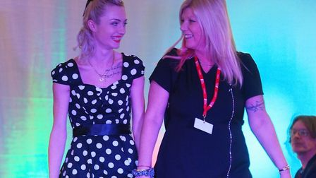 Hair and beauty students from West Suffolk College showcased their work at an annual festival Pictur