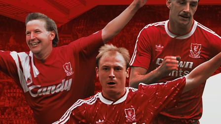 Ronnie Whelan, Steve McMahon and John Aldridge are coming to Bury St Edmunds Picture: SUPPLIED BY AP
