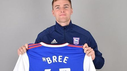 James Bree has joined Ipswich Town on loan from Aston Villa. Picture: ITFC
