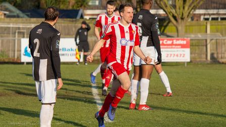 CELEBRATION: Jordy Matthews wheels away in celebration after putting the Seasiders ahead in the thir