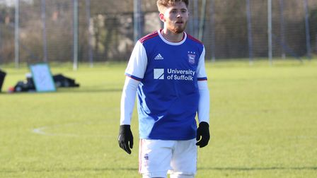 Teddy Bishop scored an hat-trick as Town U23s put five past Millwall last Monday. Picture: ROSS HALL