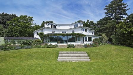 Kings Knoll in Woodbridge was among Suffolk's most expensive houses in Suffolk in 2018. Picture: CHR