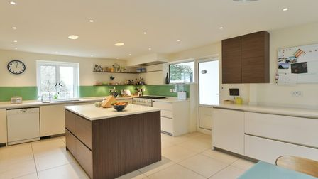 Kings Knoll, Broomheath, Woodbridge is one of six homes in Bury St Edmunds in the top 10. Picture: R