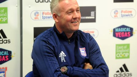 Paul Lambert will speak to the media this afternoon. Picture: ROSS HALLS