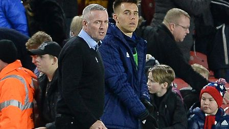 Paul Lambert has not completely ruled out Jonas Knudsen returning to the Ipswich Town team. Photo: P