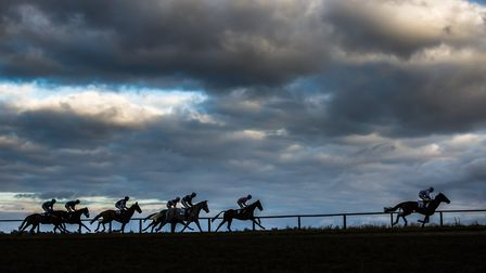 Racing goes at Horseheath - weather permitting - this weekend. Picture: GRAHAM BISHOP PHOTOGRAPHY