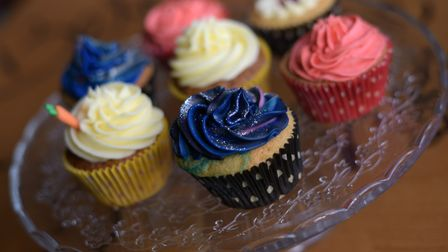 Jemma's homemade cupcakes Picture: SARAH LUCY BROWN