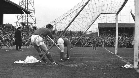 On this day in 1969, Town beat Man United 1-0 at Portman Road in Bobby Robson's first homegame in ch