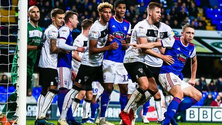 Ipswich Town lost 3-2 to Bristol City at Portman Road at the end of November. Photo: Steve Waller
