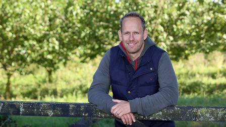 Cotchel founder and farmer Pete Thompson of Brook Farm, Great Oakley, near Harwich Picture: PHIL MO