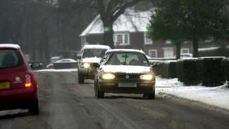 Drive safely in wintery weather