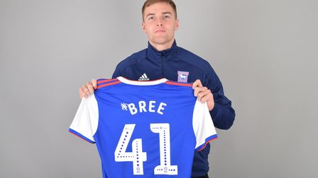 Ipswich Town have signed right-back James Bree on loan from Aston Villa. Photo: ITFC